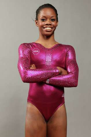 Gabby Douglas poses for a portrait during the 2012 Team USA Media Summit on May 14.  (Photo by Nick Laham/Getty Images) Photo: Nick Laham / 2012 Getty Images