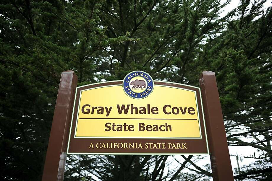A man was found dead in the parking lot of Gray Whale Cove State Beach in Montara early Wednesday morning. Photo: Michael Short, Special To The Chronicle