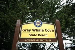 Gray Whale Cove State Beach in Montara, CA is one of many state parks and facilities scheduled for closure.   June 29th, 2012.