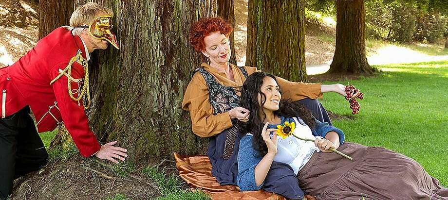 "Shakespeare fans can catch a free show in Mill Valley at Curtain Theatre's production of ""Much Ado About Nothing."" Photo: Russell Johnson"