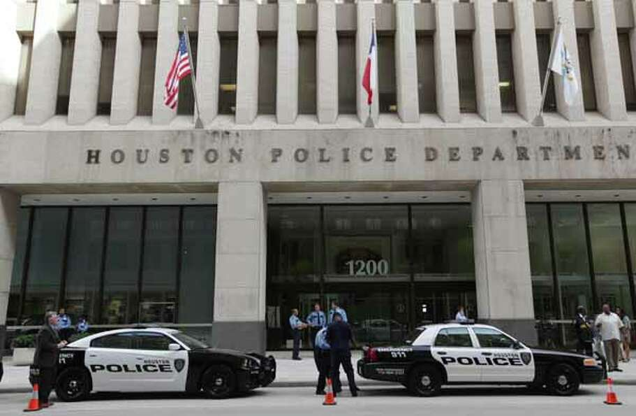 Houston Police Department reveals the new image for future patrol vehicles July 2, 2012, outside hea