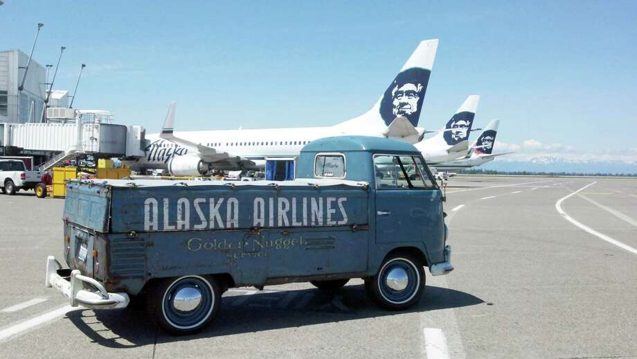 """The restored """"Spirit Wagon"""" returns to work in Seattle in June 2012. Photo: Alaska Airlines"""