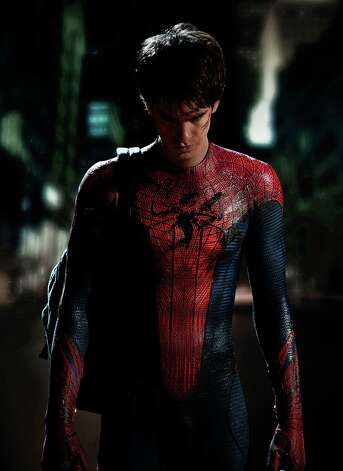 "Andrew Garfield stars as Spider-Man/Peter Parker in Columbia Pictures' ""The Amazing Spider-Man."" Photo: Columbia Pictures / © 2011 Columbia Pictures Industries, Inc.  All Rights Reserved. **ALL IMAGES ARE PROPERTY OF SONY PICTURES ENTERTAINMENT INC. FO"