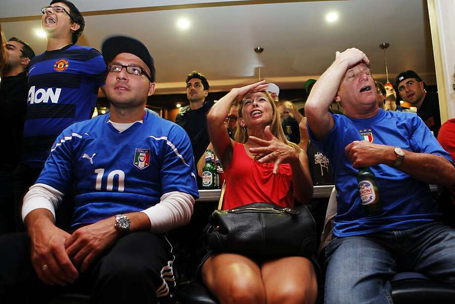 Have watched an Italy match at the San Francisco Italian Athletic Club. Photo: Sonja Och, The Chronicle