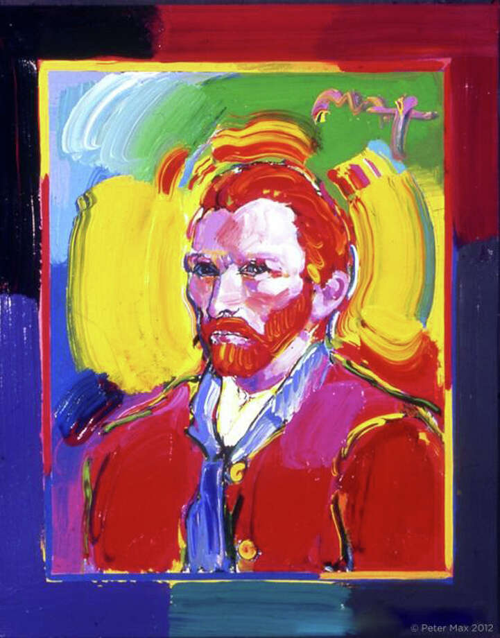 Peter Max will unveil his new masters series, interpretive works of Vincent Van Gogh, Monet, Pablo Picasso, Renoir and Edgar Degas at Geary Gallery in Darien, Conn. Photo: Contributed Photo