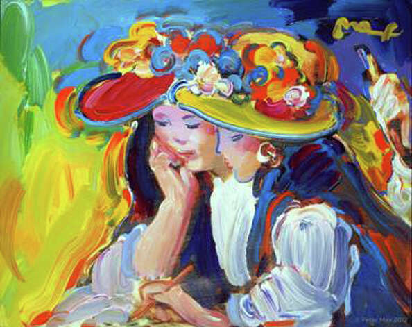 A collection by artist legend Peter Max  will be on exhibition and available for acquisition at the Geary Gallery in Darien, Conn. Photo: Contributed Photo
