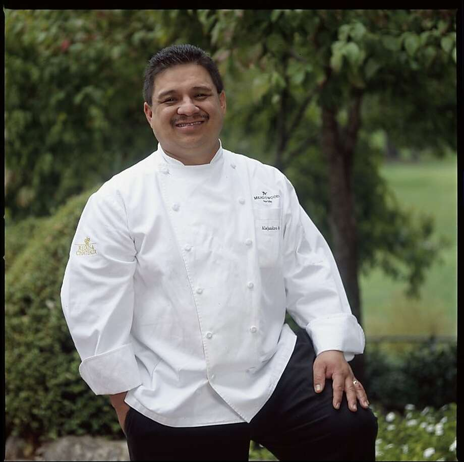 Twenty five years ago, Alejandro Ayala arrived from Mexico and started out as a dishwasher at Meadowood; he is now the resort's Executive Banquet Chef. Photo: Courtesy Of Meadowood