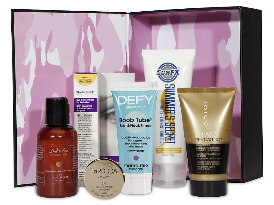Beauty Army offers sample sets of the latest cosmetics. Photo: Beauty Army