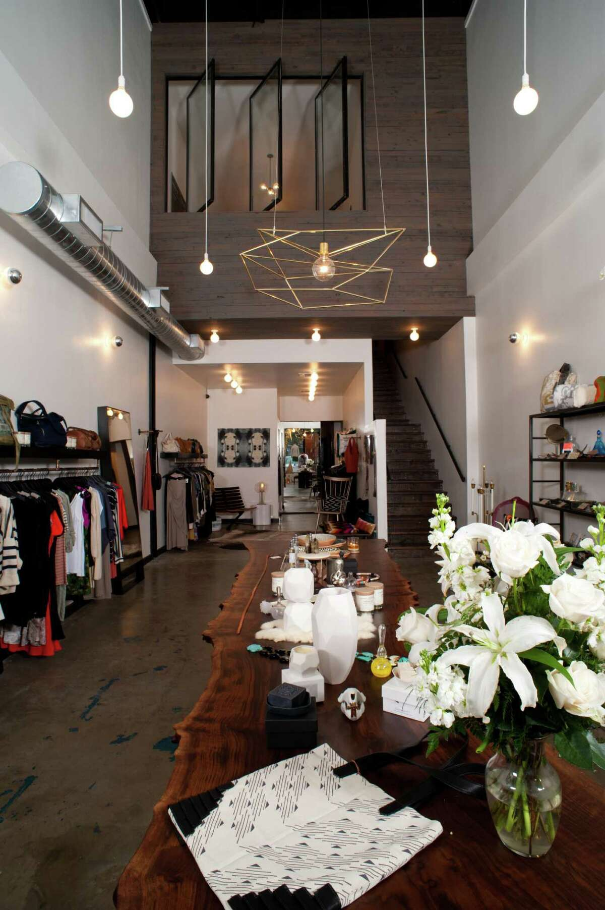 Settlement Goods & Design is located at 3939 Montrose, Suite M, and only sells products made in the USA.