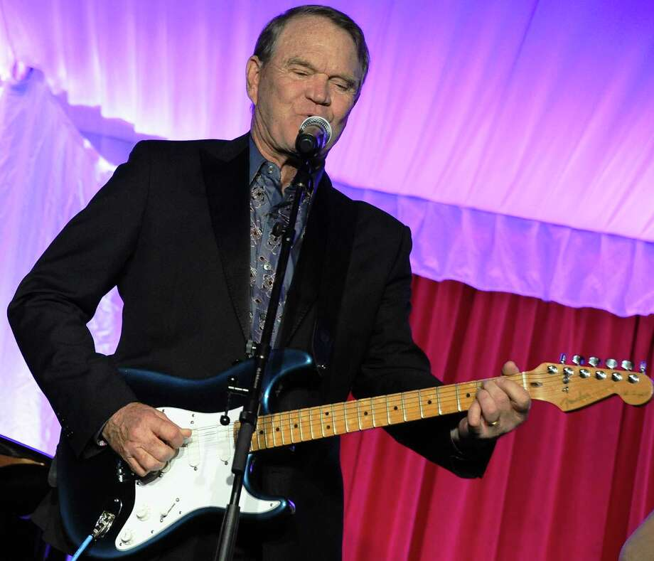 Glen Campbell performs at Jane Seymour's 2nd annual Open Hearts Foundation Celebration held at a private residency on April 21, 2012 in Malibu, California. Photo: Angela Weiss, Getty Images / 2012 Getty Images