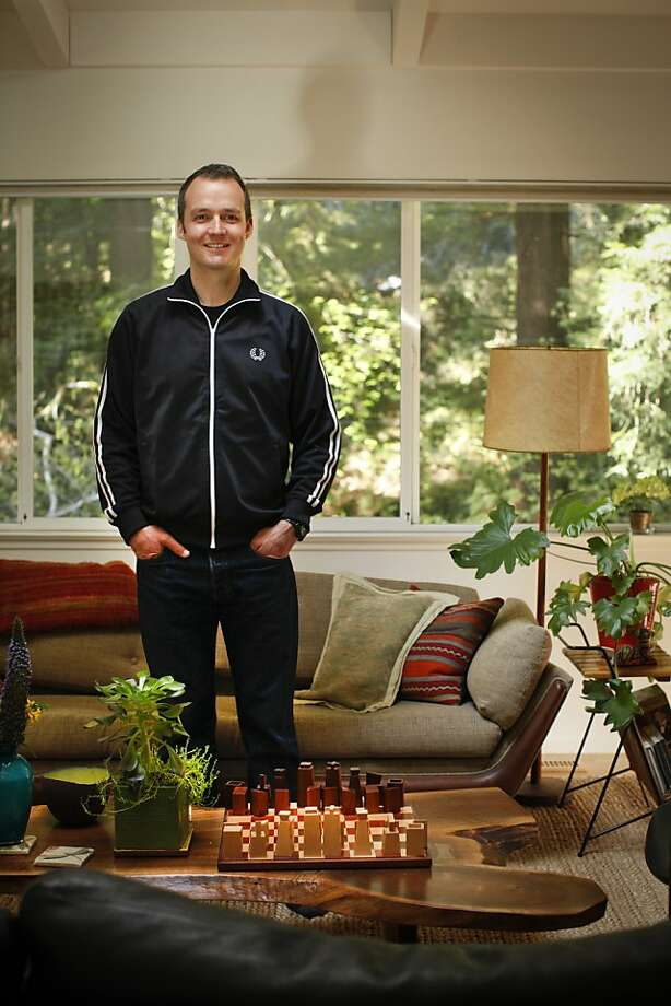 John Paluska who was the manager of the band Phish for seventeen years is seen in his Mill Valley, Calif., home on Wednesday, April 4, 2012.  Paluska will be opening a restaurant, Comal, in Berkeley soon. Photo: Russell Yip, The Chronicle