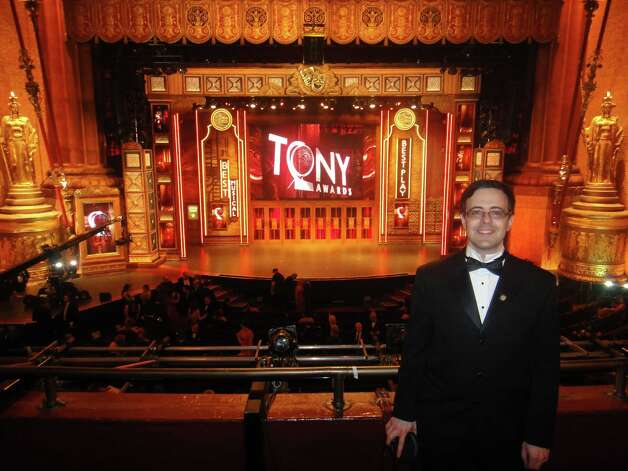 "Van Dean of Fairfield took home a Tony for best musical revival last month for being one of the producers of ""Porgy and Bess."" He has also just launched a new record label devoted to theater music - Broadway Records. Photo: Contributed Photo"