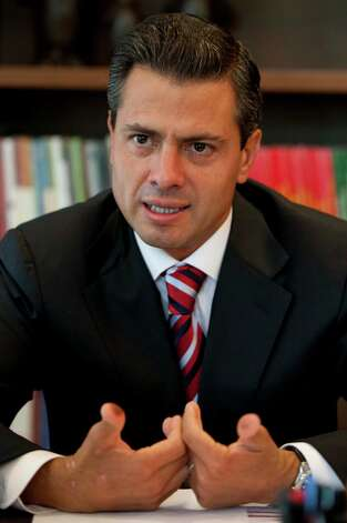 Enrique Peña Nieto Photo: AP