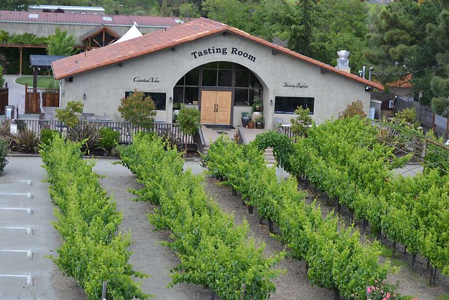 Crooked Vine Winery in Livermore has a Spanish mission-style building popular for weddings. Photo: Courtesy Of Crooked Vine Winery