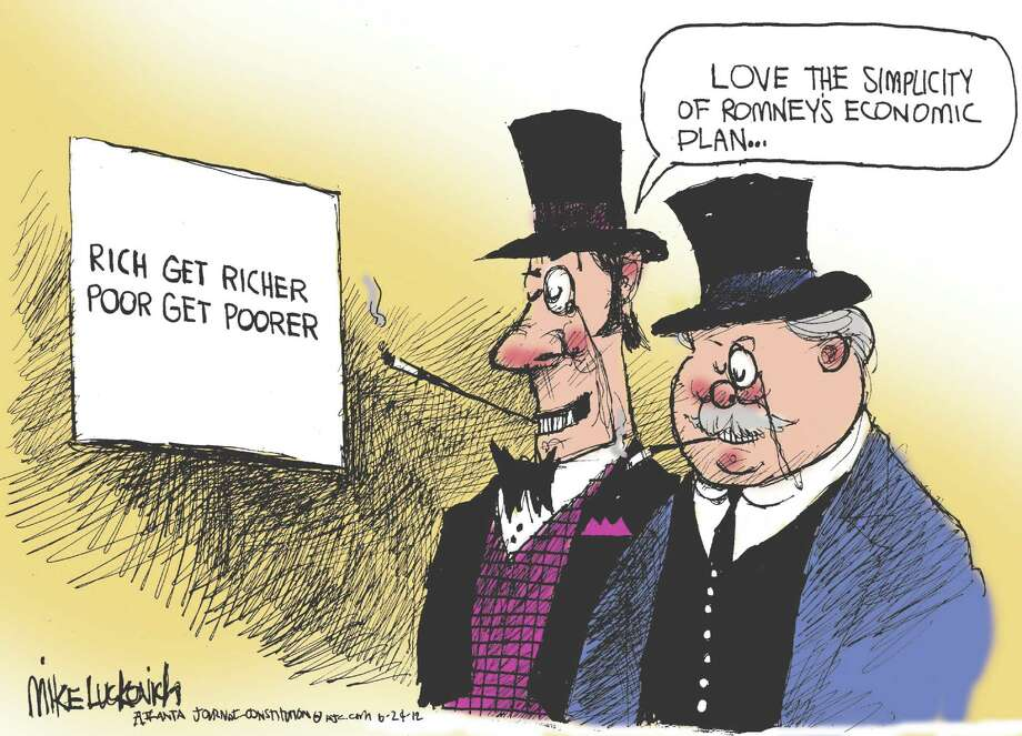 Right for rich Photo: Mike Luckovich / (C) 2012 Creators