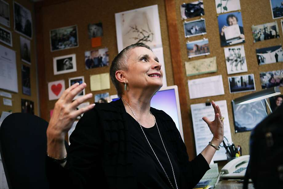Sherri Greenawald in her office at the War Memorial Opera House in San Francisco, Calif. on Thursday, June 21, 2012. Photo: Sonja Och, The Chronicle