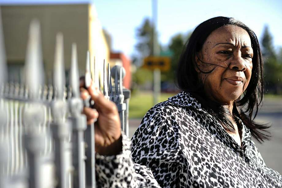 Angeleter Pringle's son, Abram, 22, was kidnapped and shot during a carjacking in October. He died later at a hospital. Photo: Michael Short, Special To The Chronicle