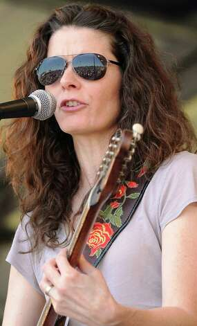 Edie Brickell performs during the 2011 New Orleans Jazz & Heritage Festival Day 5 presented by Shell at The Fair Grounds Race Course on May 6, 2011 in New Orleans, Louisiana. Photo: Rick Diamond, Getty Images / 2011 Getty Images