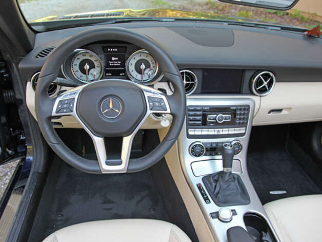 2012 Mercedes-Benz SLK350 (photo by Dan Lyons) Photo: Dan Lyons / Copyright: Dan Lyons 2011 www.LyonsOnWheels.com