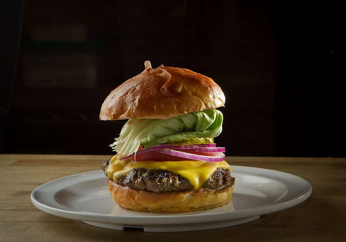 The Cheeseburger at Scolari's Good Eats in Alameda, Calif., is seen on Friday, June 29th, 2012.