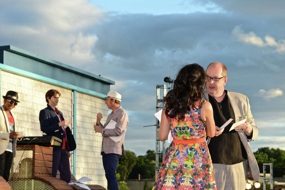 Opening night of the Shakespeare on the Sound performance of âÄúRomeo and Juliet,âÄù at Roger Sherman Baldwin Park, June 26, 2012. The show continues through July 8 before heading off to Rowayton. Photo: Jean-Francois Bulycz Photo: Contributed Photo / Greenwich Time Contributed
