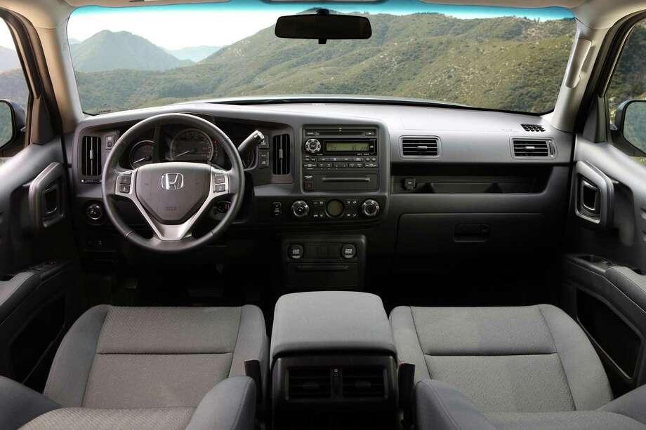 7. 2014 Honda Ridgeline17 MPG combinedMSRP: $29,570Source: Edmunds.com Photo: Honda, Courtesy Of Honda / Honda
