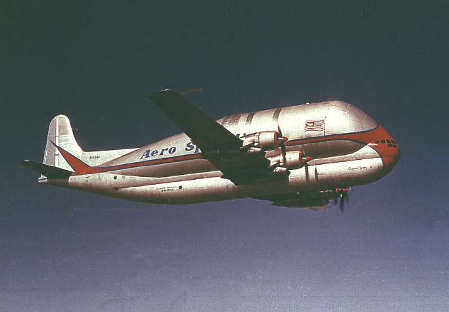 The Super Guppy followed up on the Pregnant Guppy, which Aero Spacelines also built from a Boeing 377. Photo: NASA Marshall Space Flight Center