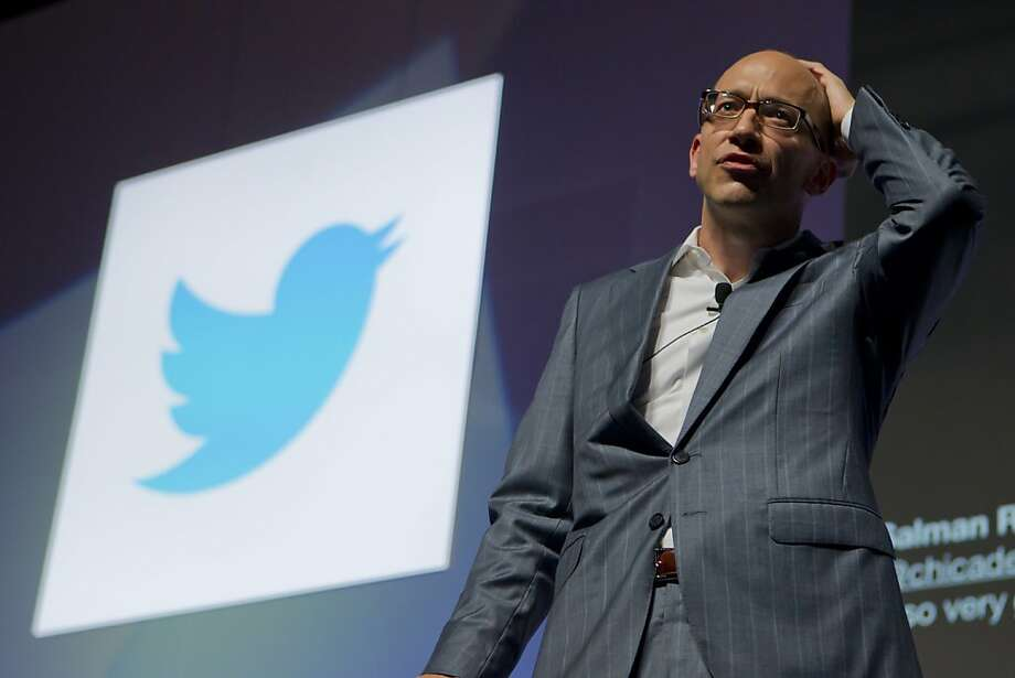 CEO Dick Costolo's Twitter was forced to turn over data that will allow the French government to ID the service's users. Photo: Lionel Cironneau, Associated Press