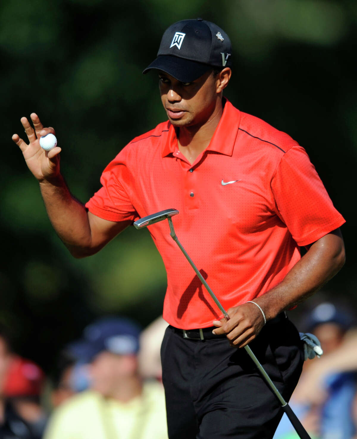 Tiger Woods is leading the PGA Tour money list for the first time since September 2009.