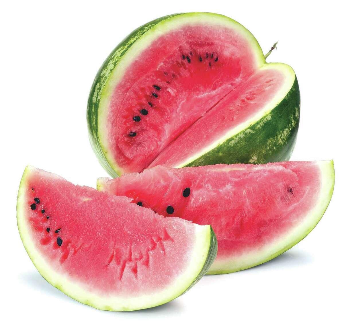 Watermelon, always a summer treat.