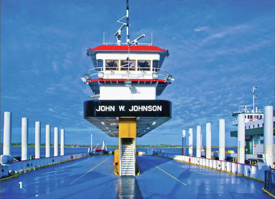 The new John W. Johnson ferry. Photo provided. Photo: The Enterprise