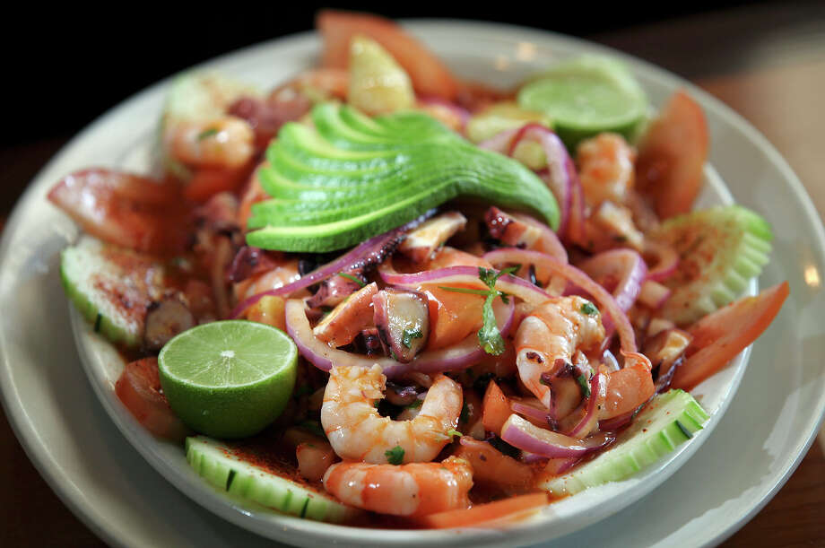 El Bucanero:16505 Blanco Road, 210-408-9297, elbucanerosa.com. Even with two locations, this local favorite fills up quickly and lines are often long, but the wonderful seafood dishes from the interior of Mexico make the lines worth it. Photo: Edward A. Ornelas, San Antonio Express-News / ¨ 2012 San Antonio Express-News
