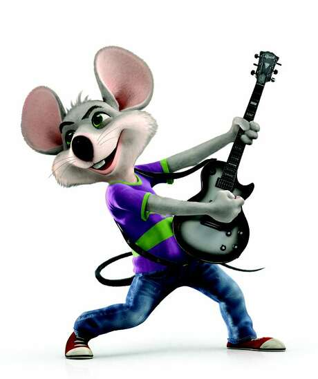 Chuck E. Cheese is slimming down and now brandishing a guitar. / CEC Entertainment Inc