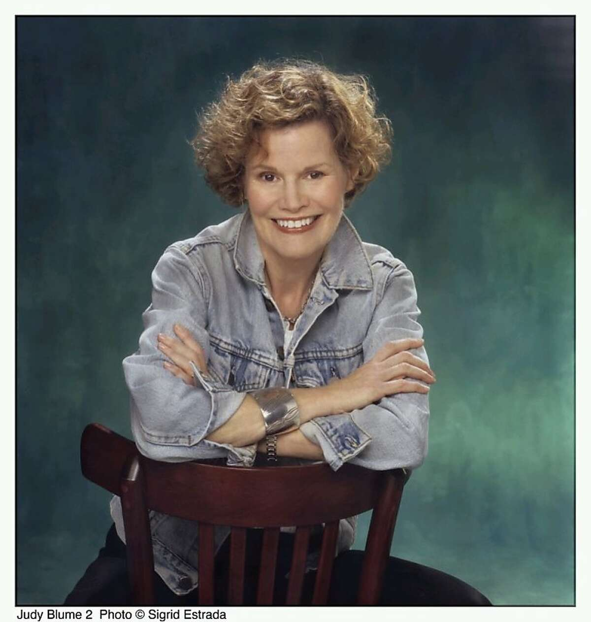 Writer Judy Blume