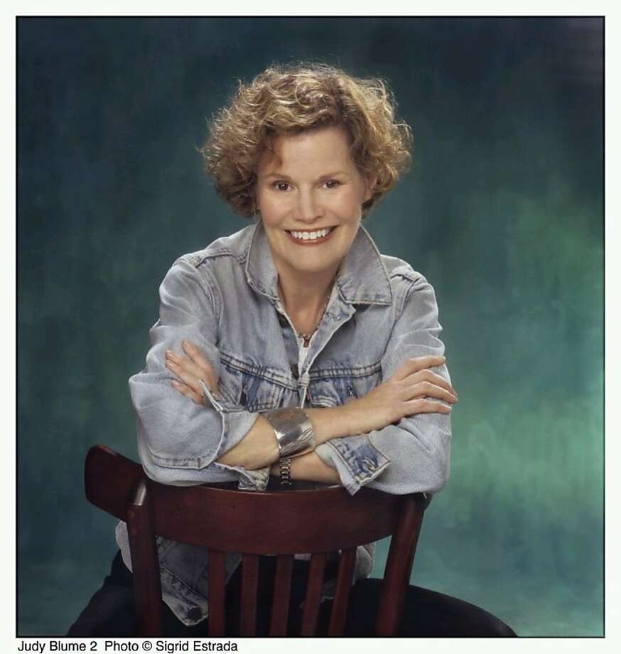 Writer Judy Blume Photo: Sigrid Estrada
