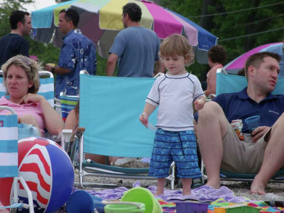 Were you SEEN at the PAL fireworks show in Westport on Tuesday, July 3, 2012? Photo: Todd Tracy / Connecticut Post