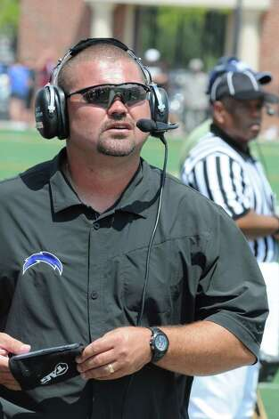 Clear Springs football head coach Clint Hartman Photo: L. Scott Hainline / The Chronicle