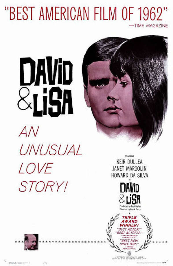 "Early 1960s movie poster for ""David & Lisa."" Photo: File Photo / Fairfield Citizen"