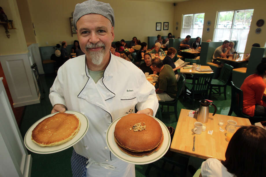 Robert Fleming, owner of the Magnolia Pancake Haus, has opened a new location for his iconic San Antonio restaurant on Huebner road. The restaurant is open from 7:00 a.m. until 2:00 p.m. seven days a week. John Davenport/San Antonio Express-News Photo: San Antonio Express-News