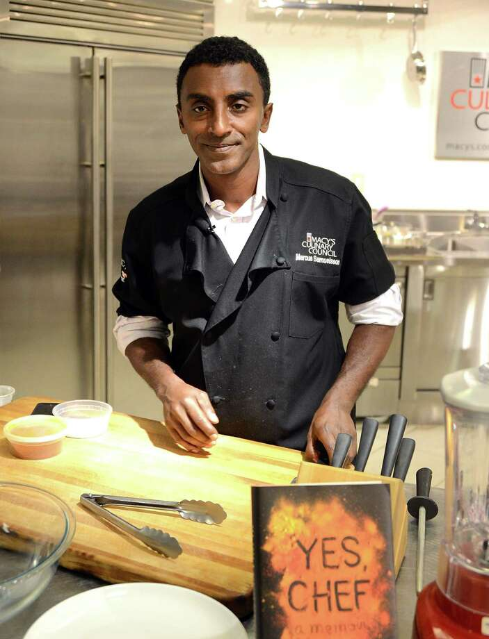 NEW YORK, NY - JULY 02:  Chef Marcus Samuelsson visits Macy's Herald Square on July 2, 2012 in New York City.  (Photo by Andrew H. Walker/Getty Images) Photo: Andrew H. Walker / 2012 Getty Images