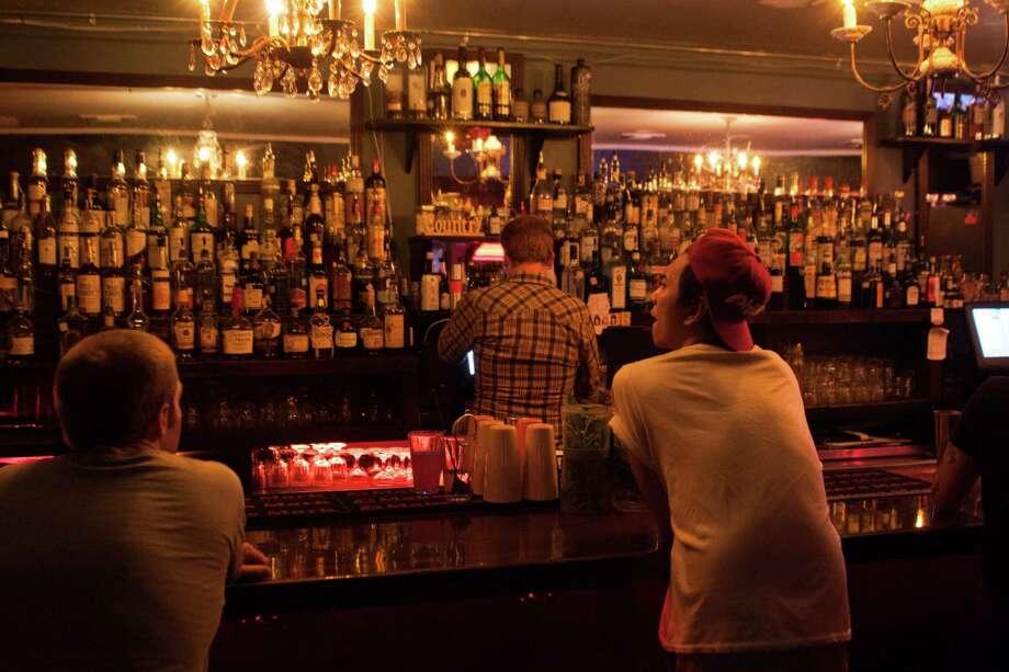Grand Prize: Great neighborhood bar in the Museum District with faithful, hip following. Be careful if you go during happy hour; the drink specials are great and the bartenders are friendly and pour liberally if you tip well. And did we mention the food? There's a full lineup of bewitching sandwiches (Dr Pepper-braised short rib, anyone?) and sides. 1010 Banks, 713-526-4565, twitter.com/GrandPrizeBar. Photo: Marc Brubaker