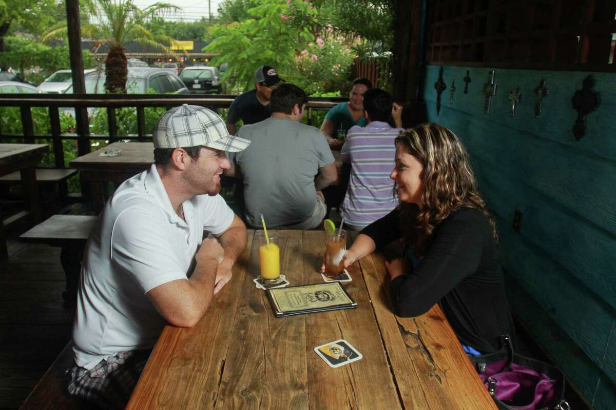 Under the Volcano : 2349 Bissonnet Hours: 5 to 11 p.m. Proof of voting earns guests a free drink.