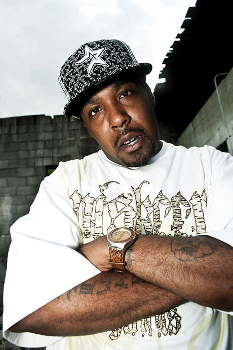 Houston rapper Mike-D (aka Bosshog Corleone) was influenced by the late DJ Screw. Photo: Photo By Peter Beste