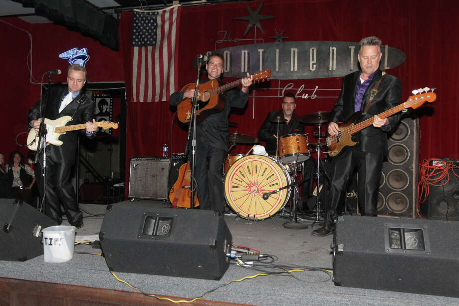 The Wagoneers include Brent Wilson, from left, Monte Warden, Thomas Lewis Jr. and Craig Allan Pettigrew. Photo: Gary Miller