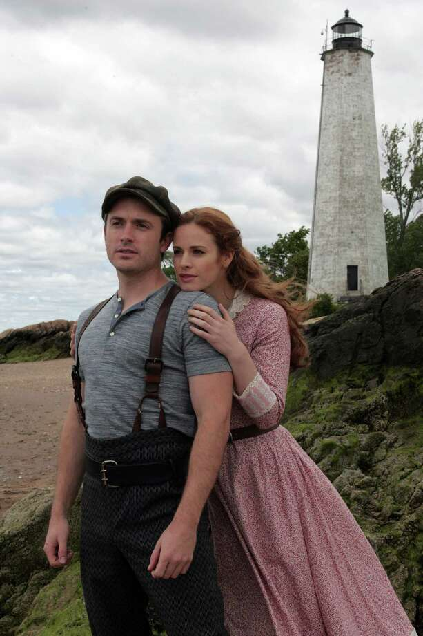 """James Snyder and Teal Wicks are playing the star-crossed lovers in """"Carousel"""" opening July 13 at the Goodspeed Opera House in East Haddam. Photo: Contributed Photo / Connecticut Post Contributed"""