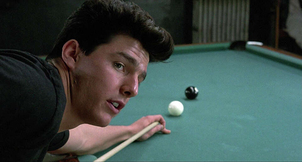 Tom Cruise starred in Scorsese's 1986 pool hustler movie,