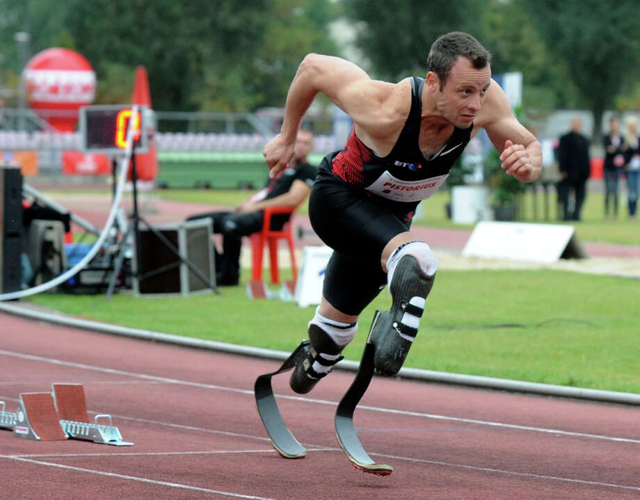 Oscar Pistorius' inclusion on South Africa's Olympics team strikes a blow for the disabled but raises questions of competitive fairness. Photo: Alik Keplicz / AP