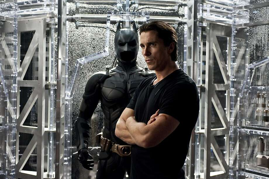 """The Dark Knight Rises"":  Christian Bale stars as Batman. CHRISTIAN BALE as Bruce Wayne in Warner Bros. PicturesÕ and Legendary PicturesÕ action thriller ÒTHE DARK KNIGHT RISES,Ó a Warner Bros. Pictures release. TM and © DC Comics Photo: Ron Phillips"