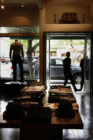 A hearth over the front door of Convert in Berkeley. Photo: Liz Hafalia, The Chronicle