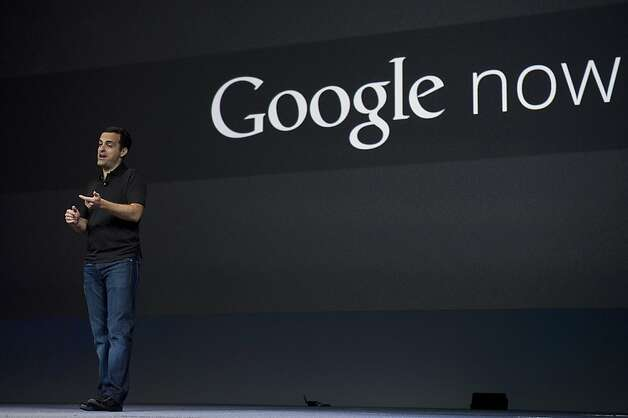 Hugo Barra, director of product management at Google Inc., speaks about the latest version of the Android operating system called Jelly Bean, during the Google I/O conference in San Francisco, California, U.S., on Wednesday, June 27, 2012. Photo: David Paul Morris, Bloomberg